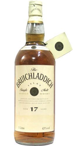 Bruichladdich 17 Year Old 1ltr