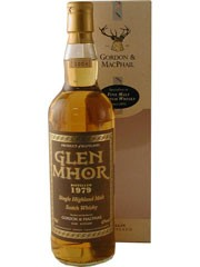 Glen Mhor 25 Years Old. 1979