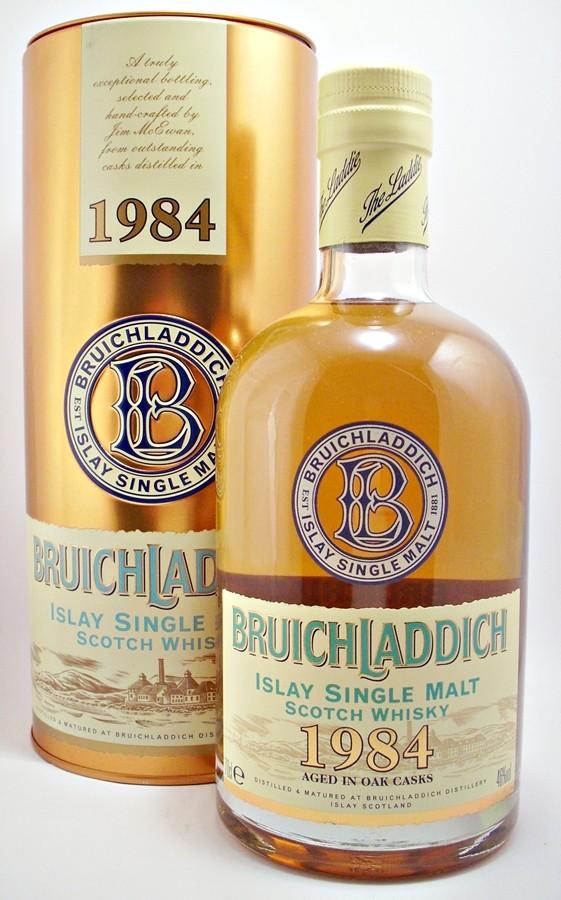 Bruichladdich 1984 Single Malt Whisky