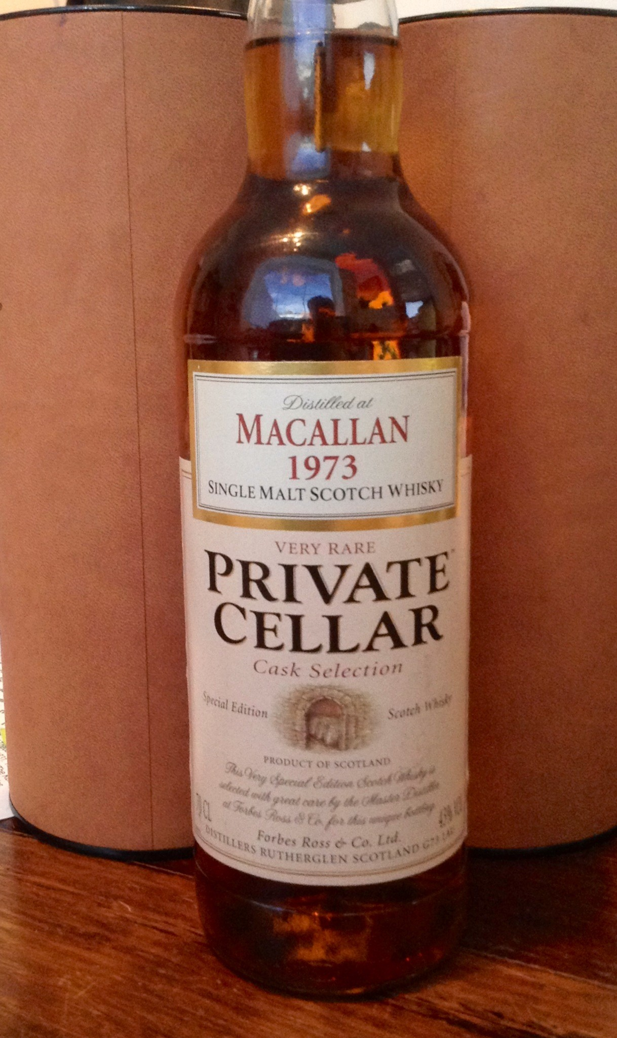 Macallan 1973 'Private Cellar'