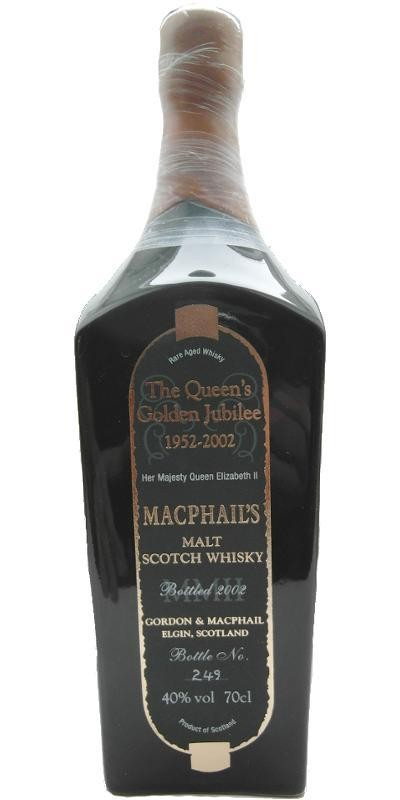 The Queens Jubilee  'Macphail's' Rare Aged Whisky